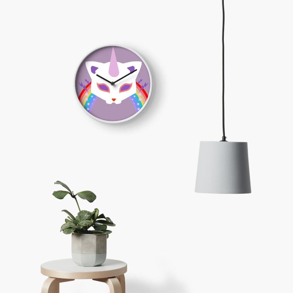 Kitty Abschnitt Rainbow Miraculous Ladybug Uhr