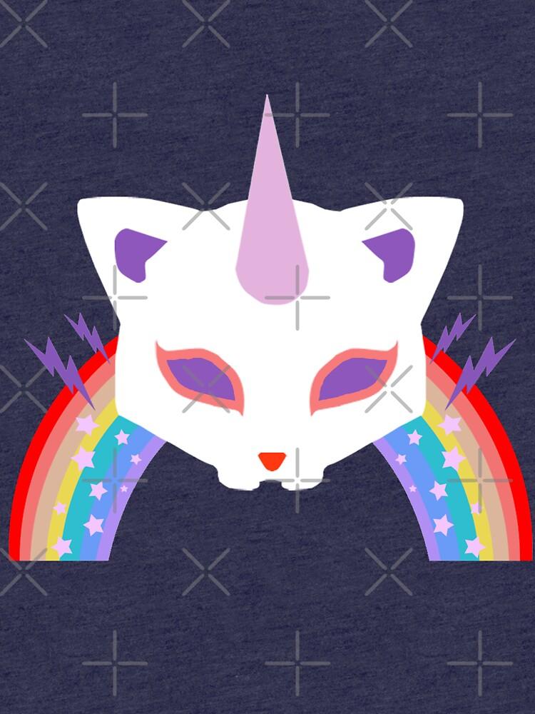 Kitty Abschnitt Rainbow Miraculous Ladybug von MichRangel
