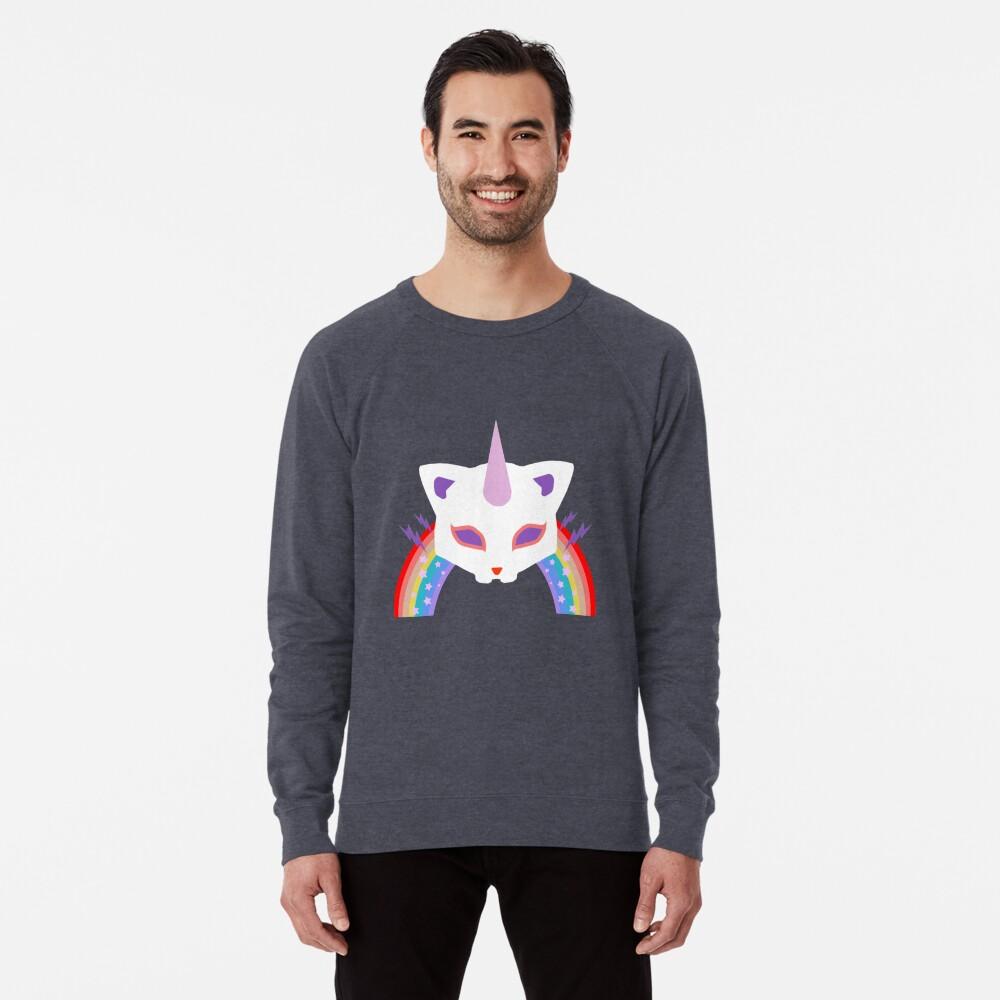 Kitty Abschnitt Rainbow Miraculous Ladybug Leichter Pullover