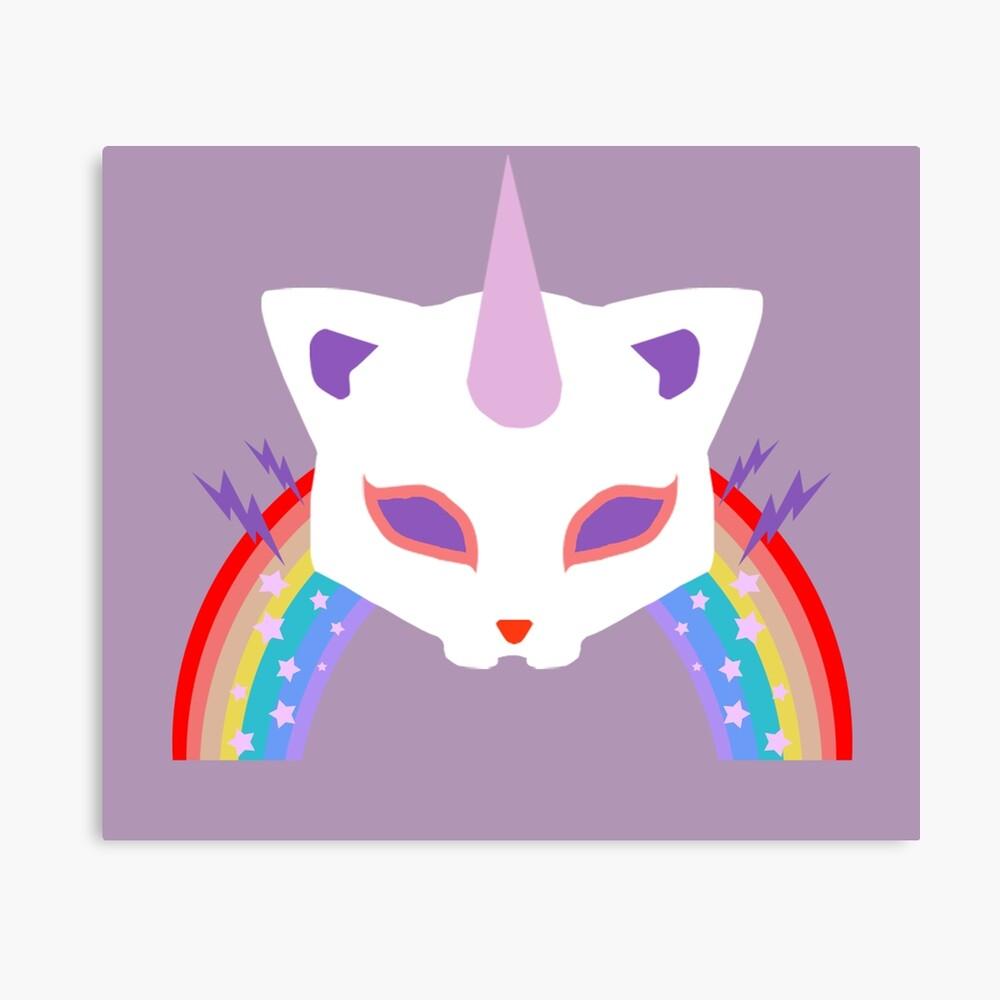 Kitty Abschnitt Rainbow Miraculous Ladybug Leinwanddruck