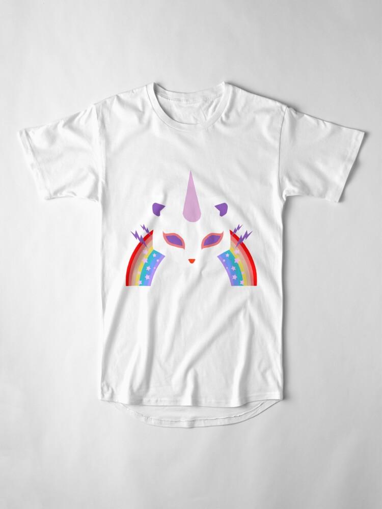 Alternative Ansicht von Kitty Abschnitt Rainbow Miraculous Ladybug Longshirt