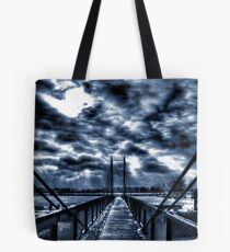 Mystery Bridge Tote Bag