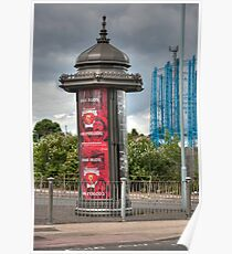 World Cup Adverts: London 2010. UK. Poster