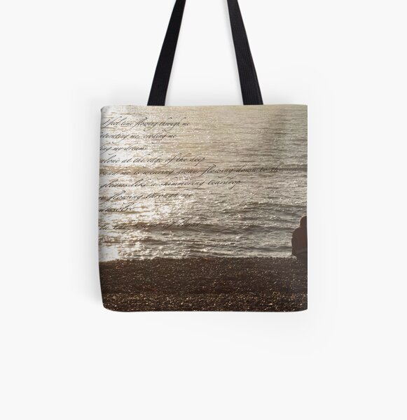 I feel time flowing through me ... All Over Print Tote Bag