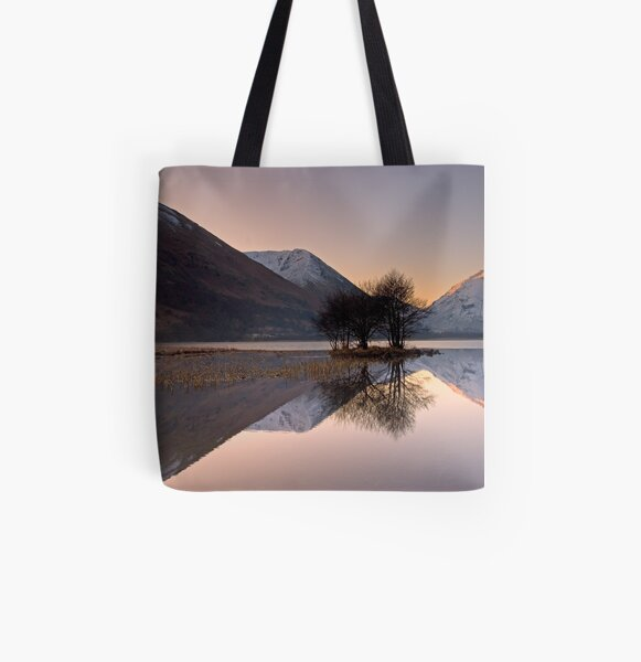 Reflections All Over Print Tote Bag