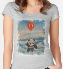 Balloon Ride Women's Fitted Scoop T-Shirt