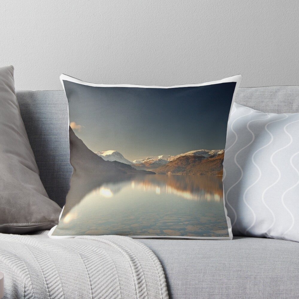 Ullswater Throw Pillow