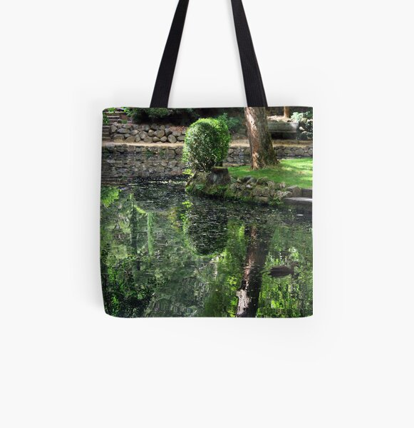 Reflecting Beauty All Over Print Tote Bag