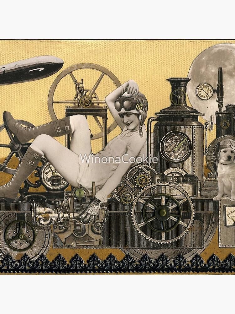 Steampunk Heroine - Arabella Tinkerton de WinonaCookie