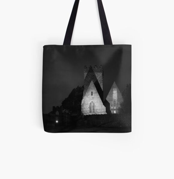 St Doulagh's Church All Over Print Tote Bag