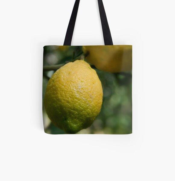 Uno sfumato al  limone All Over Print Tote Bag