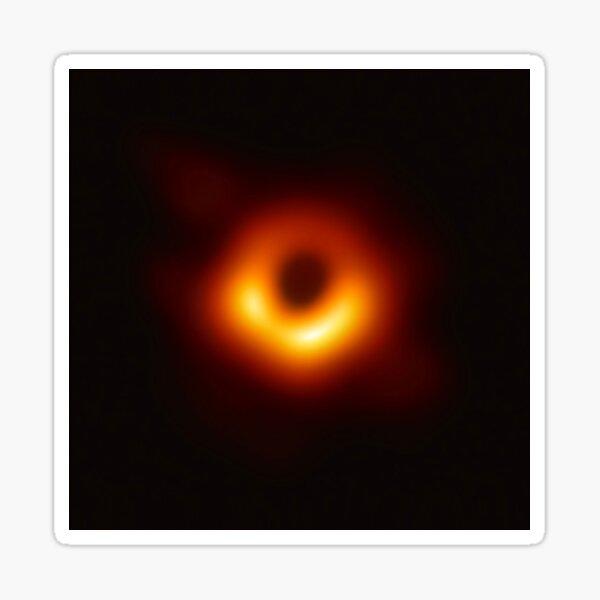 The Black Hole Sticker