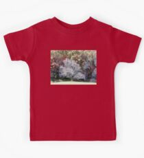 Lone Tree In A Clearing Kids Tee