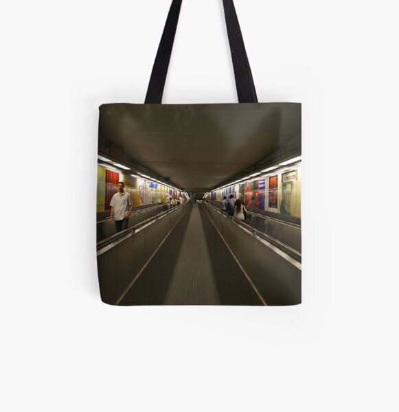 Brouckère - tunnel All Over Print Tote Bag