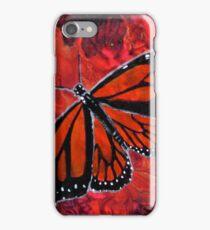 Winged Fire- Monarch Butterfly  iPhone Case/Skin