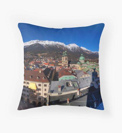 City Views Throw Pillow