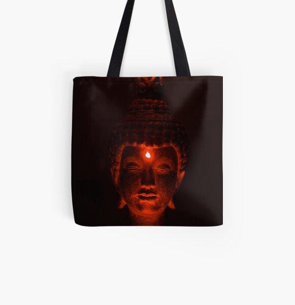 Budha Lives All Over Print Tote Bag