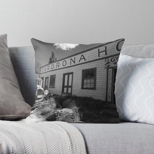 The Cardrona Hotel - New Zealand Throw Pillow