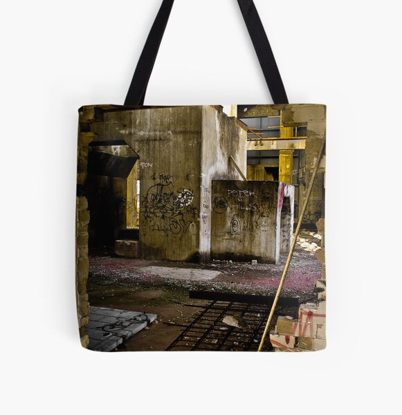 Hole All Over Print Tote Bag