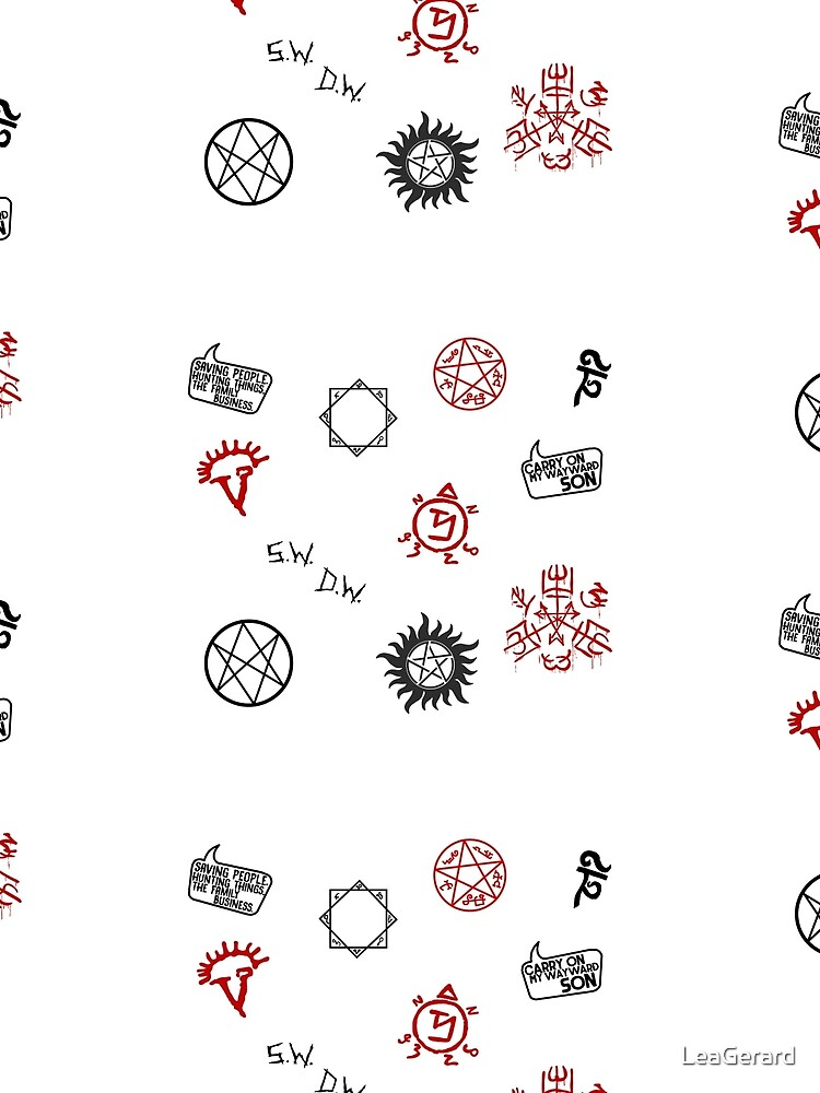 Supernatural Sigils and Symbols by LeaGerard