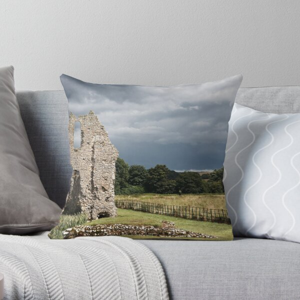 Storm of Ages Throw Pillow