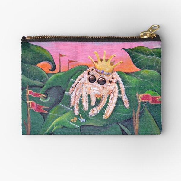 Anansi Becomes King... Zipper Pouch
