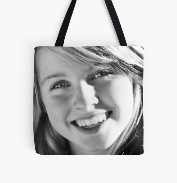 shannon All Over Print Tote Bag