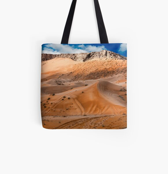 Fujairah Dunes All Over Print Tote Bag