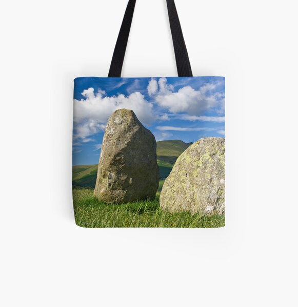 Watchers in the Ring All Over Print Tote Bag