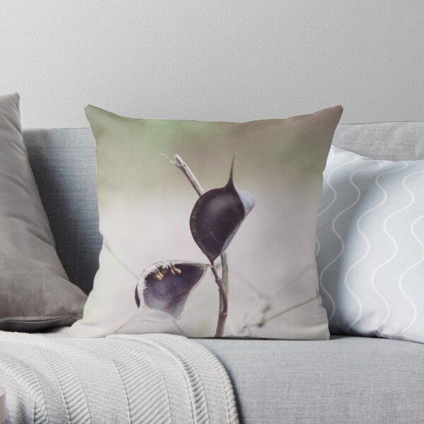 Plant Pod Throw Pillow