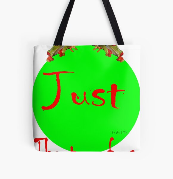 Just the Two of Us All Over Print Tote Bag