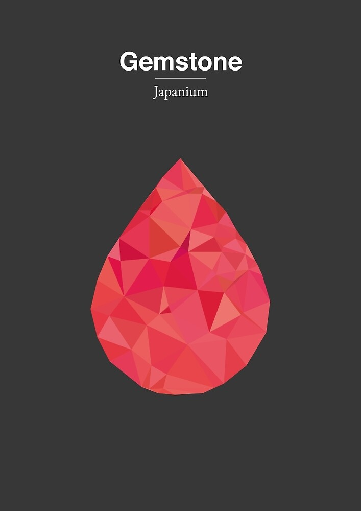 Gemstone - Japanium by Marco Recuero