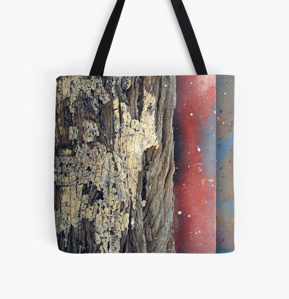 Pipes and Timber All Over Print Tote Bag
