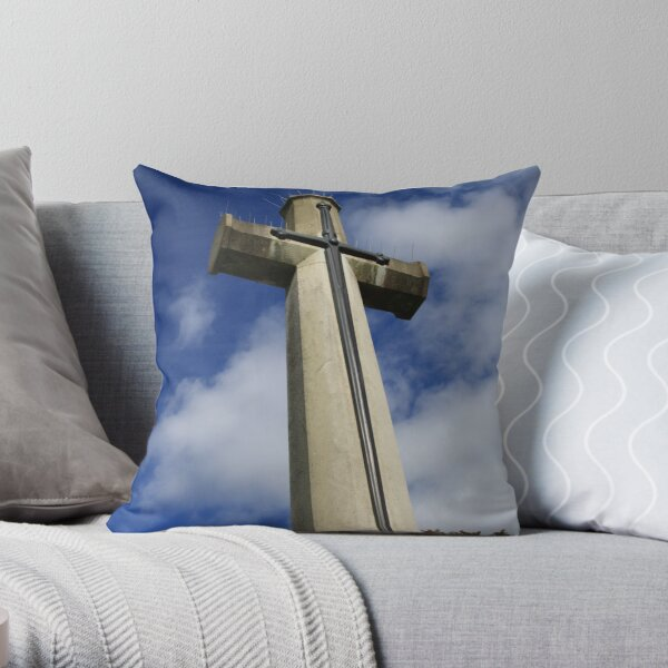 We Shall Remember Throw Pillow