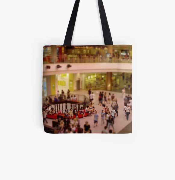 Can't Stop Shopping All Over Print Tote Bag