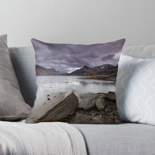 Loch Leven Throw Pillow
