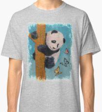 Panda Butterflies Classic T-Shirt