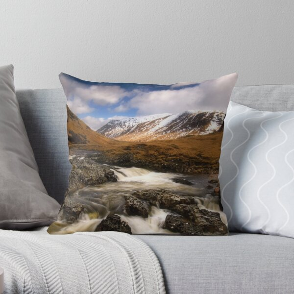 Glen Etive Throw Pillow