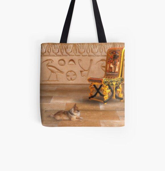 The Lady-In-Waiting All Over Print Tote Bag