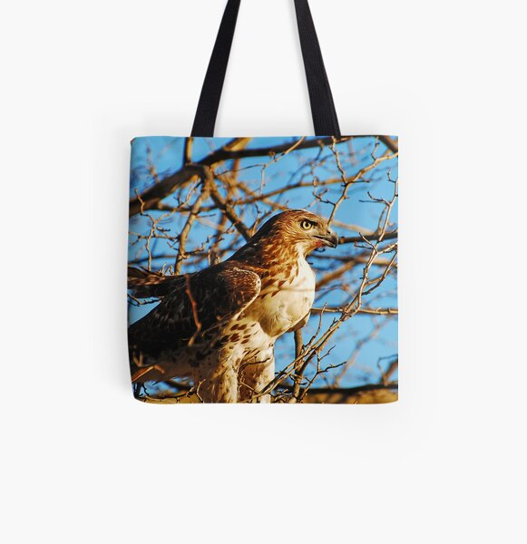 Golden Eye All Over Print Tote Bag