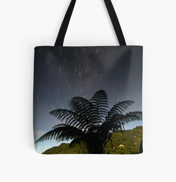 Turning Fern All Over Print Tote Bag