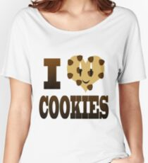 I Love Cookies Women's Relaxed Fit T-Shirt