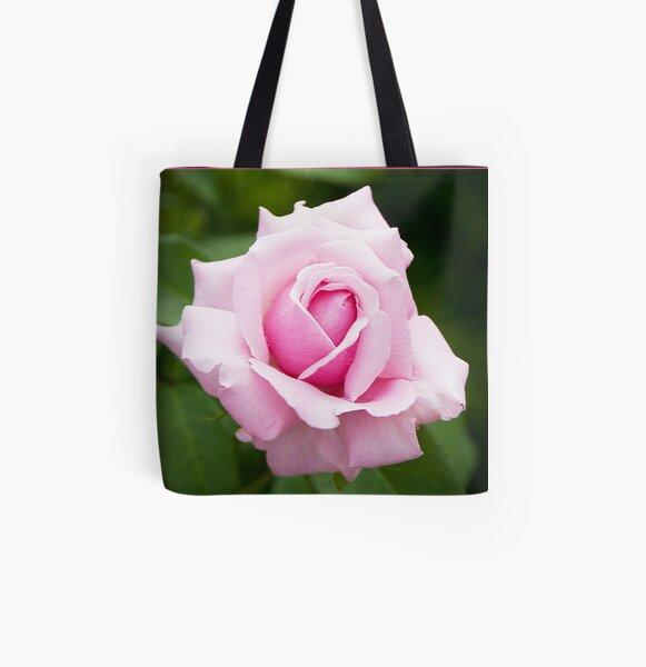Pink Rose 1 All Over Print Tote Bag