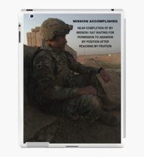 Mission Accomplished iPad Case/Skin