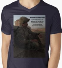 Mission Accomplished V-Neck T-Shirt
