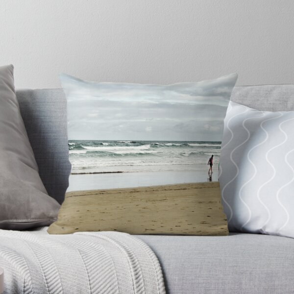 A Late Afternoon Stroll Throw Pillow