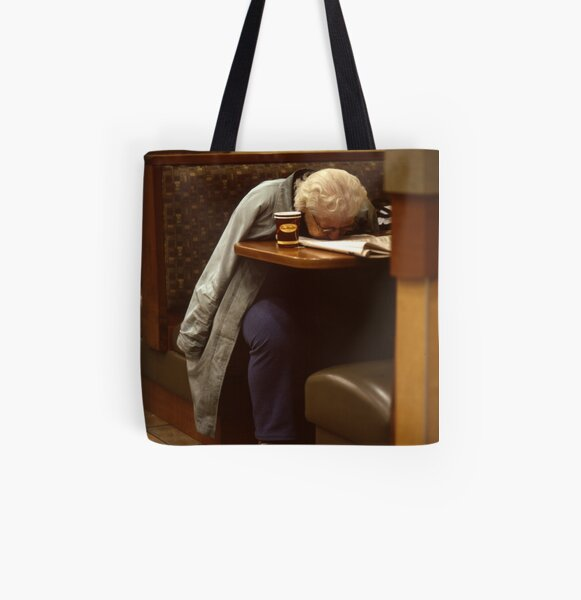 Immersed All Over Print Tote Bag