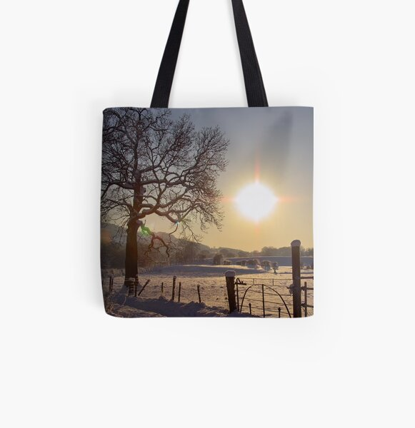 The Coldest Sunset All Over Print Tote Bag