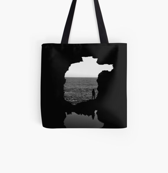 Out on the Edge All Over Print Tote Bag