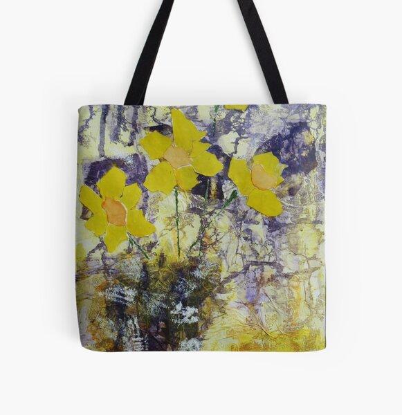 Daffodil time All Over Print Tote Bag